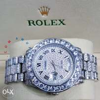 Rolex iced out wristwatch,we deliver anywhere in nigeria
