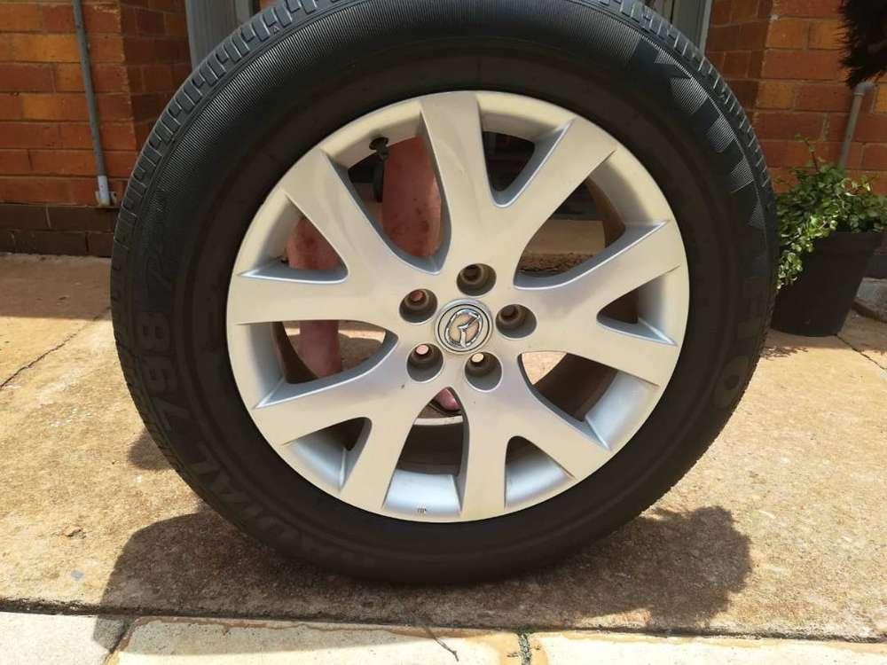 Mazda 6 Of 7 Tyres With Rims 0