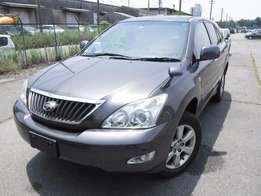 Toyota Harrier Grey colour 2011 model Fully loaded excellent condition