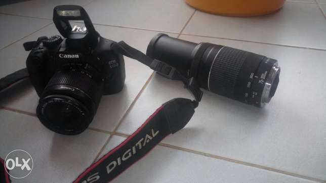 Canon EOS 550D complete with extra 75-300 zoom lens and carry bag for Langata - image 2