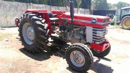 Massey Ferguson 185 with 3 disc plough