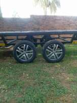 Dubble axle trailer