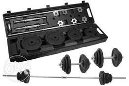 50kg barbell with dumbbell rod