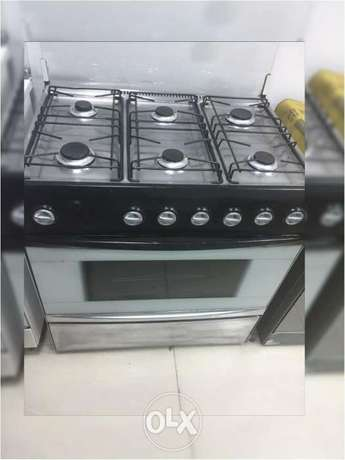 6 burners very good condition delivery available