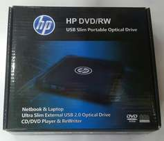 HP EXterna Portable Optical drive DVD Writer