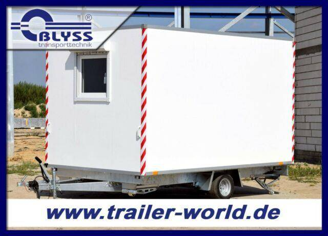 Blyss Baustellenwagen 360x210x210cm Anhänger 1100kg GG