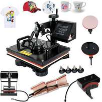 Hot New Heat Press Machine 5 in 1 Combo available