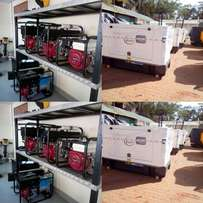 Generators from 2.4kva to 2000kva