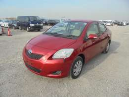 Toyota Belta 2010 Model Automatic 2WD Red Colour