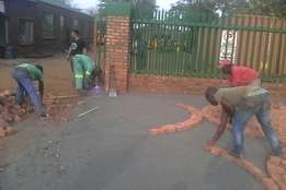 Paving and tilling all types