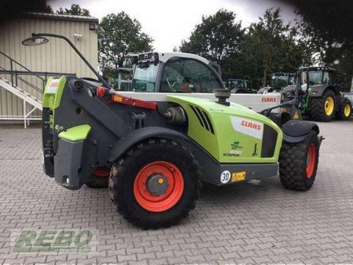 Claas scorpion 9055 - 2014