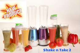 Shake and Take 2 with 2 Bottles