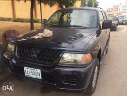Registered Mitsubishi Montero
