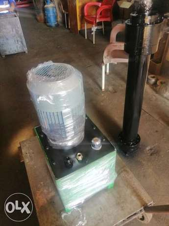 وحدة هيدروليك مكنة طوب 200بار Hydraulic unit with control 4spol