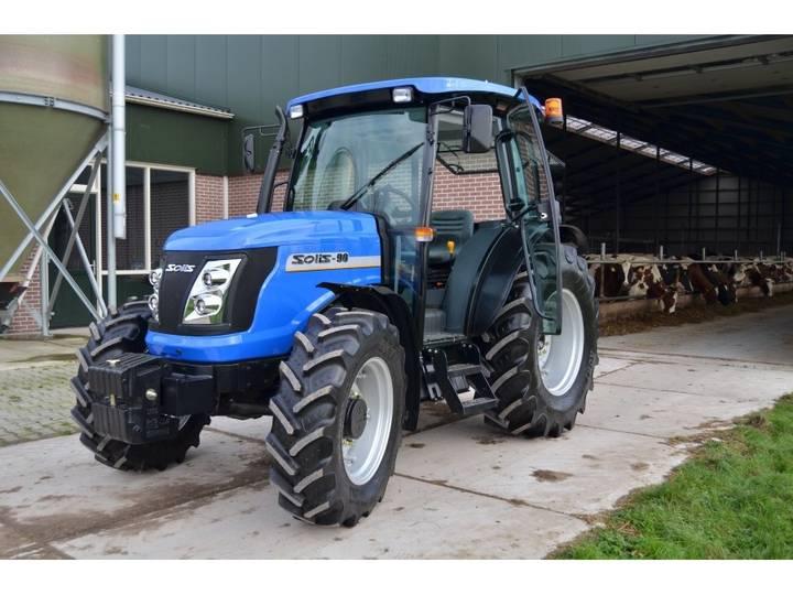 Solis 90 4WD tractor NIEUW (3 jaar garantie) - 2017