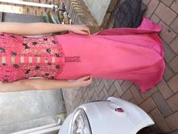 Pink 2 Piece Matric Farewell Dress
