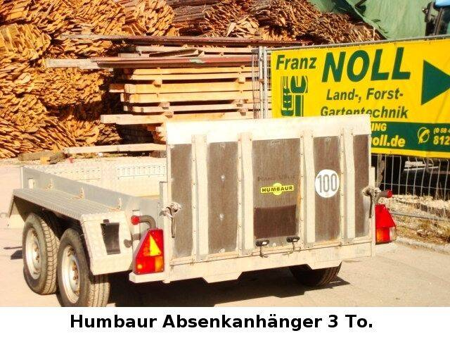 Humbaur Absenkanhänger - 2009