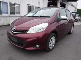 Toyota vitz jewela new shape brand new car