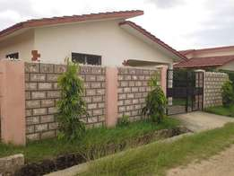 Modern spacious 3 bedroom bungalow on own compound with Parking space