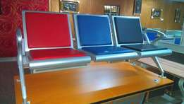 3 in 1 padded Airport chair
