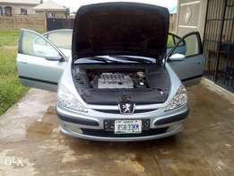 A very clean Nigerian used 2003 Peugeot 607 in perfect condition