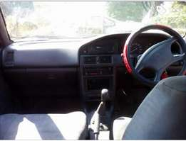 2001 Toyota Tazz 1.3 5 speed