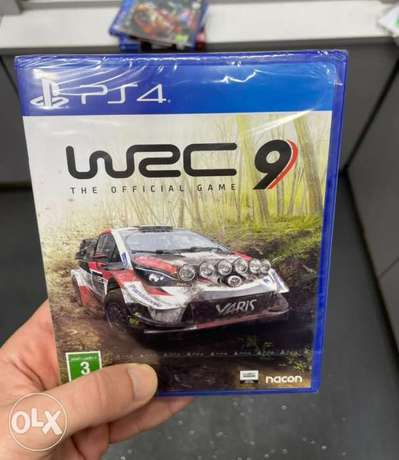 WRC 9 Ps4 Game (New!)
