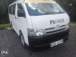 Toyota Hiace for quick sale