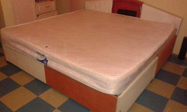 6 by 6 Bed with Mattress Roysambu - image 4