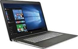 available hp envy core i5  laptop and a free bag and powerbank