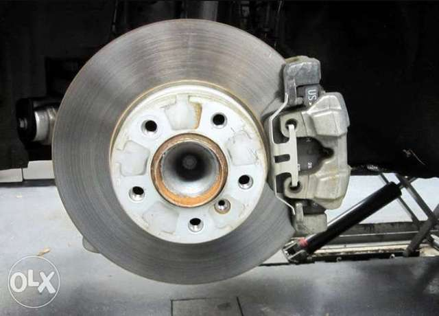 Bmw E90 disk brake front and rear with orginal bmw pad