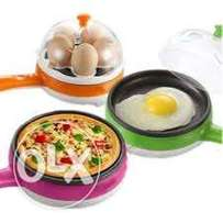 egg boiler and fryer-2 in one