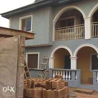 Newly built standard 2 bedroom flat at Glory Land Estate, Idimu