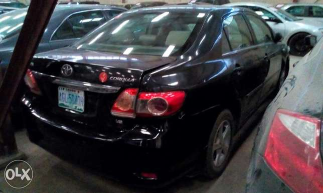 Grab now!! Toyota Corolla 2012 direct Ikeja - image 2