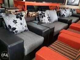Very Affordable High Quality Sofa. Leather And Fabrics