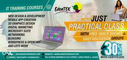 IT training at Lekki Phase 1 with free lunch daily