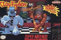 """Game """"ClayFighter""""for Super Nintendo Entertainment System Pal Version"""