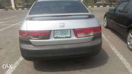 Very clean Honda Accord for sale
