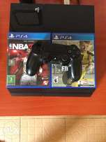 Ps4 Console with Two pads and games