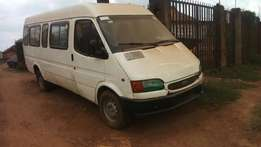 Used Longchasis Ford Bus with Seats and good engine