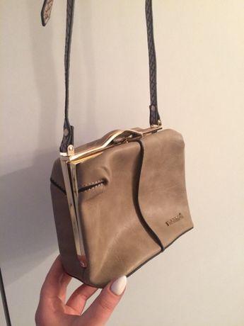 6c603bed9e77b Monnari mały kuferek torebka kopertówka złote dodatki Zara reserved Chełmno  - image 6
