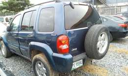 Super Liberty Jeep 2002 model
