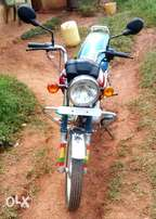 TVS motorcycle in fair condition