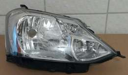 Toyota Etios 2012 onwards New Headlights for sale Price:R1295 each