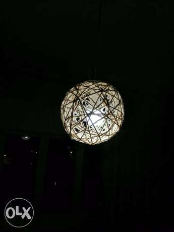 Ball shape Creative lamp cover غطاء لمبة شكل كروي خيطان