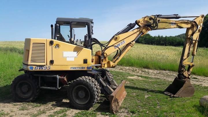 Macmoter bw95 wheel excavator - 1997