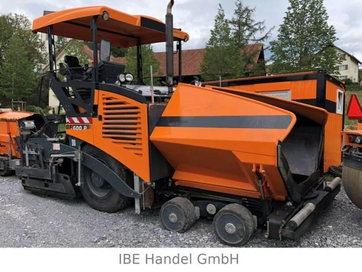 Bomag BF 600 P, SD Fertiger / paver - 2010