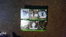 Xbox one 6games hardly used