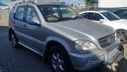 2002 Mercedes Benz ML500, Low Mileage.