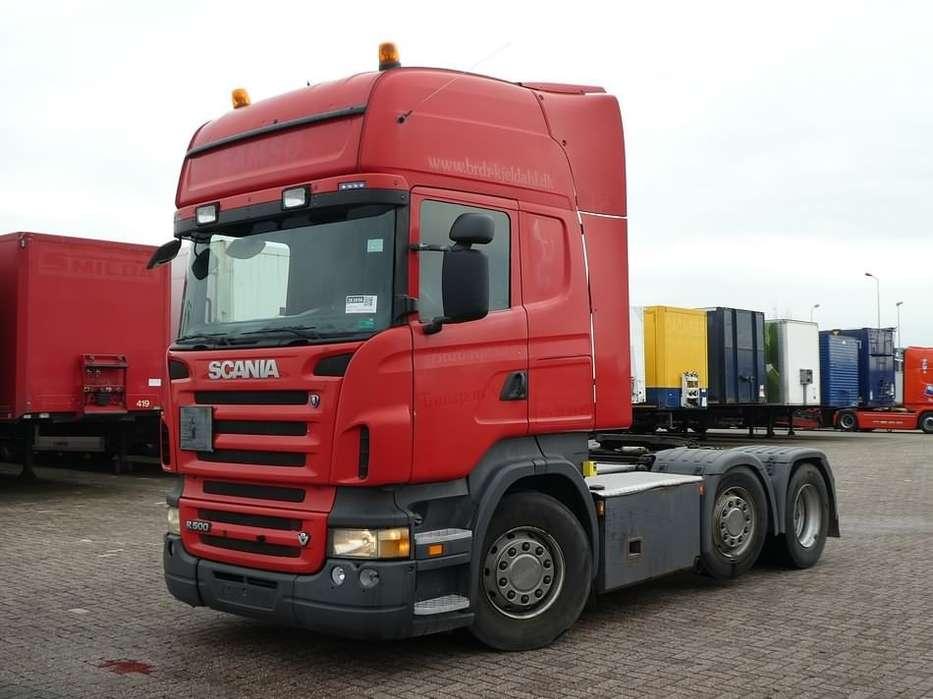 Scania R500 tl 6x2/4 manual 561 - 2008